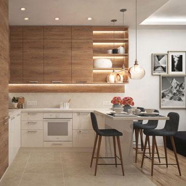 Проект кухни-гостиной фото.
