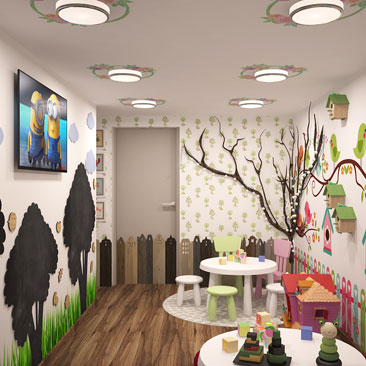 Детский развивающий центр: дизайн-проект.