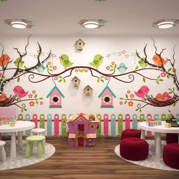 Дизайн интерьера детского центра фото.