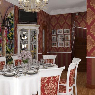Кухни и столовые комнаты - фото дизайн-проектов интерьеров.
