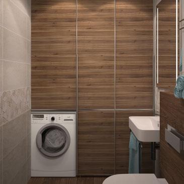Дизайн в 3д туалетной комнаты