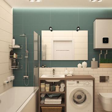 Дизайн 3д ванной