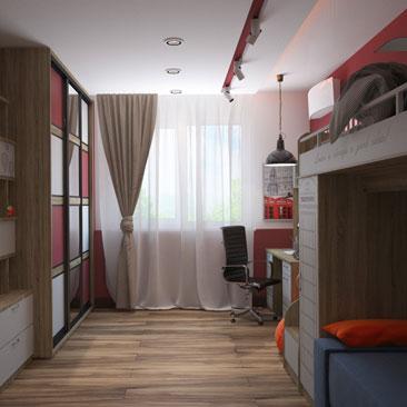 Дизайн детской комнаты в 2018 году: фото, идеи.