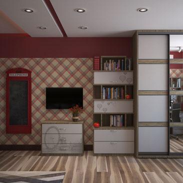 Дизайн детской комнаты, фото интерьера для детей.