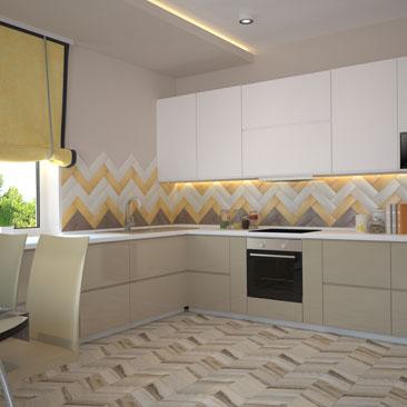 Кухня-столовая-гостиная. Планировка, дизайн и фото.
