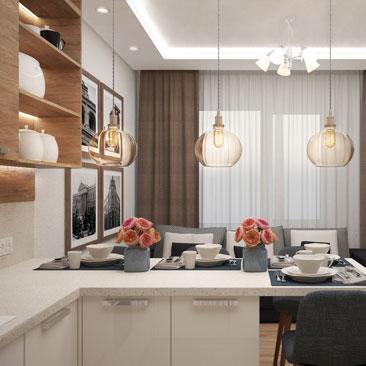 Кухня в современном стиле: фото интерьеров.