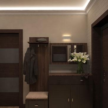 Дизайн прихожей в квартире - фото идеи интерьера.