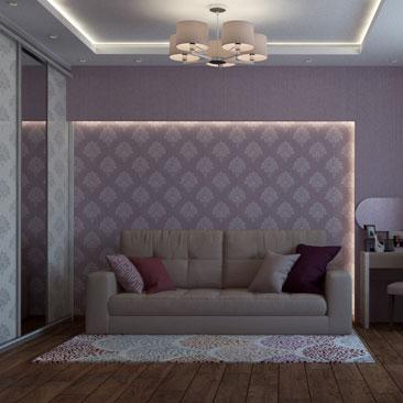 Дизайн маленькой гостиной.