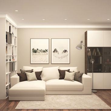 Дизайн зала в квартире, фото интерьера зала.