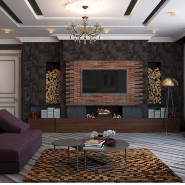Дизайн интерьера гостиной 2018