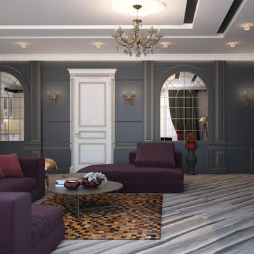 Дизайн гостиной 2018