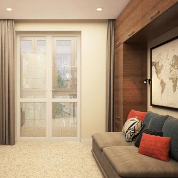 Современный дизайн комнаты подростка: дизайн-проект 2018 года.