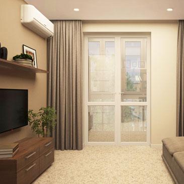 Современный дизайн интерьера комнаты для подростка.