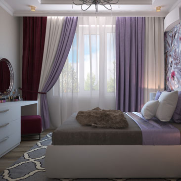 Тенденции в создании дизайн-проектов спален в 2018 году