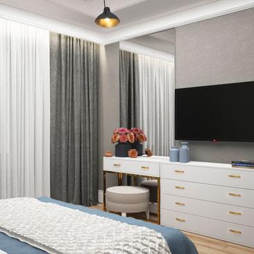Дизайн интерьеров спален в 2018 году.