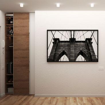 Дизайн коридоров в квартирах 2018.