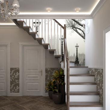 Дизайн лестниц 2018.