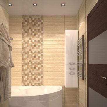 Проекты ванных комнат 2018.