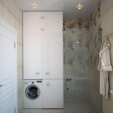 Проект интерьера ванной комнаты - профессиональный дизайн.