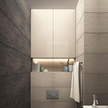 Дизайн ванной комнаты: красивые и практичные интерьеры.