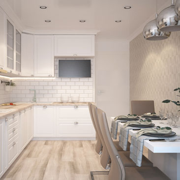 Дизайнерские кухни - проекты, интерьеры, необычные решения.