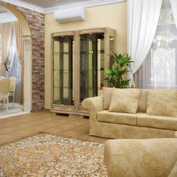 Фотогалерея интерьеров гостиных комнат в современных и традиционных стилях