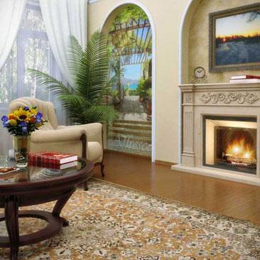 Фото дизайна интерьеров гостиных комнат - фото проектов гостиных.