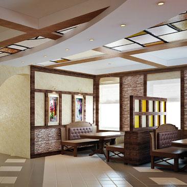 Проекты дизайна интерьеров маленьких кафе и больших ресторанов - фото и идеи - дизайн ресторана Орёл