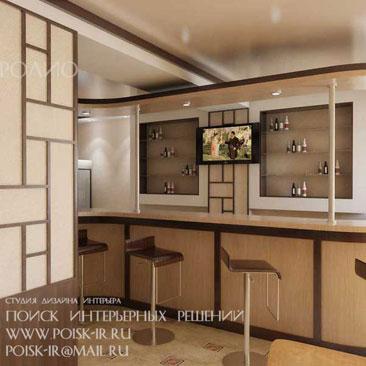 Интерьер кафе, дизайн кафе с фото. Дизайн баров Москва