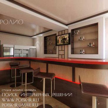 Дизайн интерьера кафе фото - дизайн бара Москва