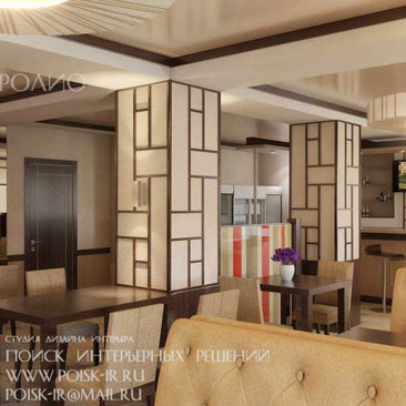 Дизайн интерьера кафе фото - дизайн ресторана Москва