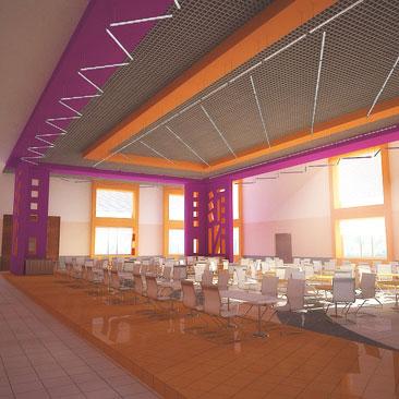 Интерьер и дизайн ресторанов, баров, клубов, кафе - фотогалерея - дизайн ночного клуба Новосибирск