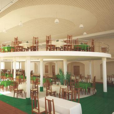 Интерьер и дизайн закусочных, суши-баров, пиццерий, бистро - фотогалерея - дизайн кафе Уфа