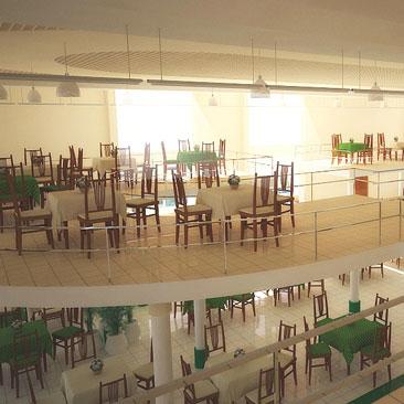 Интерьер и дизайн закусочных, суши-баров, пиццерий, бистро - фотогалерея - дизайн ресторана Новосибирск
