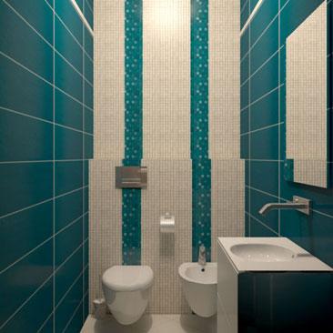 Раскладка плитки в ванной комнате - схемы, примеры с фото, дизайн.