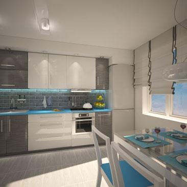 Белая кухня все о дизайне интерьера в белом цвете (90 фото) 252