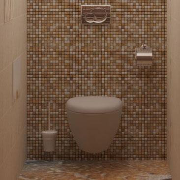 3d наливные полы в ванной и туалетной комнате - фото интерьеров. 3D полы в санузлах - фото интерьеров. 3D полы в интерьере ванной и туалета - фотогалерея. Туалет с мозаикой фото. Интерьеры туалетных комнат с мозаикой - фотографии проектов. Дизайн туалета с мозаикой в бежево коричневых тонах фото. Дизайн интерьера Дубоссары.
