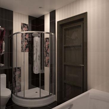 Дизайн маленькой ванной комнаты с душевой кабиной, туалетом и стандартной ванной. Стильные дизайн-проекты ванных комнат - фотогаларея по категориям и стилям. Ванные комнаты: идеи, фото, отделка, ремонт и советы. Дизайн интерьера Бендеры.