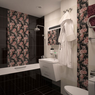 Коричневая ванная комната фото интерьеров. Интерьер ванной в тёмных тонах - фотогалерея. Сочетание коричневого, бежевого и розового цвета в интерьере ванной комнаты. Дизайн интерьера Эдмонтон. Дизайнеры коттеджей и квартир в Эдмонтоне.