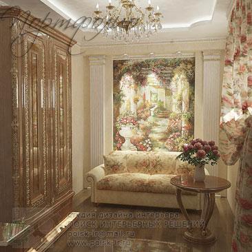 Гостевая спальня - дизайн-проекты с фото.