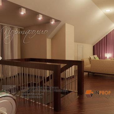 Фото дизайна спальной комнаты для гостей