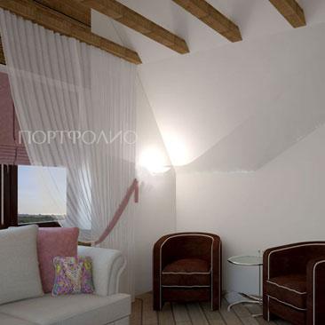 Фото интерьеров спален-гостевых комнат. Дизайн проекты комнат для гостей (гостевых спален) фото.