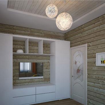 Гостевая комната в частном доме - дизайн-проекты с фото.