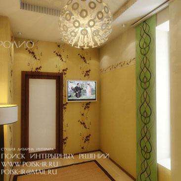 Интерьер гостевой комнаты — фото.