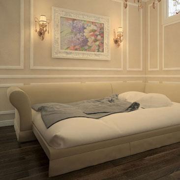 дизайн комнаты для гостей в частном доме фото