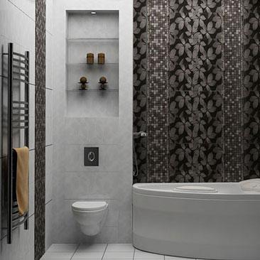 Уютные ванные комнаты - фото