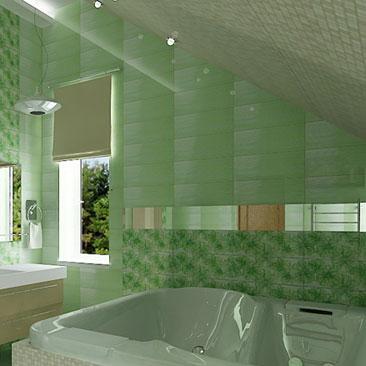 Красивые и современные ванные комнаты - фотогалереи.