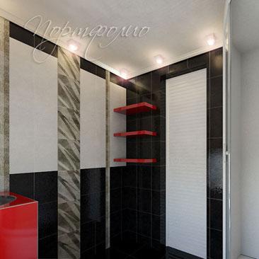 Дизайны ванных комнат - интерьерные решения в классических и современных стилях.