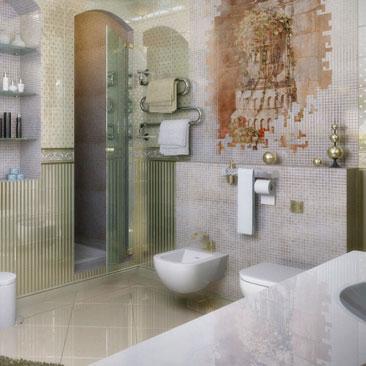 Фотогалерея проектов от профессиональных дизайнеров ванных комнат.