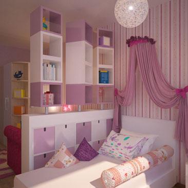 Детская спальня дизайн фото. Дизайн интерьера г. Арзамас Нижегородская область